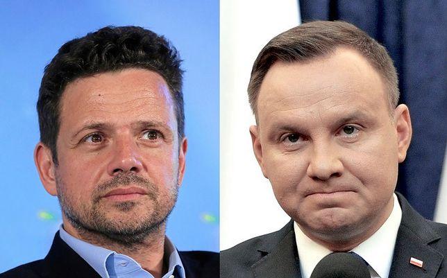 Andrzej Duda mógłby przegrać z Rafałem Trzaskowskim w drugiej turze wyborów prezydenckich