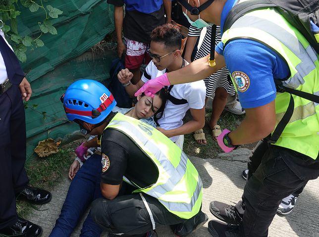 Silne trzęsienie ziemi na Filipinach