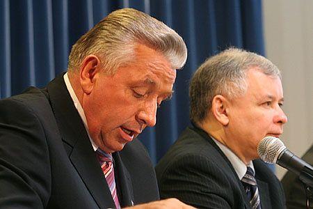 Samoobrona chce zmienić ustawę o CBA
