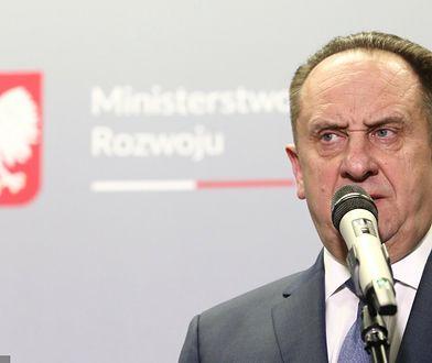 Andrzej Gut-Mostowy. Rządowa pomoc dla spółek związanych z ministrem
