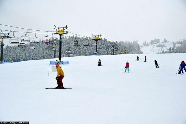 Krynica-Zdrój. Śmiertelny wypadek na stoku narciarskim (zdjęcie ilustracyjne)