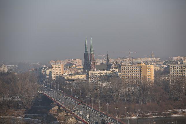 Smog Warszawa - 31 grudnia