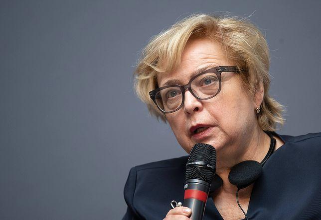 Małgorzata Gersdorf zaapelowała do prezydenta Andrzeja Dudy