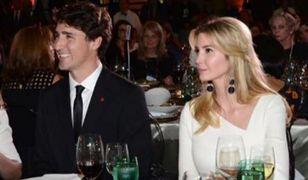 Ivanka Trump pochwaliła się zdjęciem z Justinem Trudeau na Instagramie.