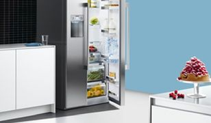 Minibarek w chłodziarko-zamrażarce KA90GAI20 od Siemensa