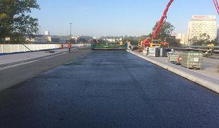 Prace na moście Łazienkowskim na ostatniej prostej