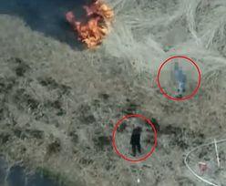 Mazowieckie. Wypalali trawy w czasie suszy, przyłapał ich policyjny dron