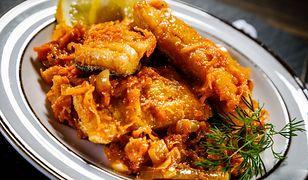 Ryba po grecku klasycznie