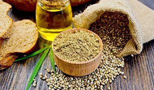 Mąka konopna jest też skarbnicą nienasyconych kwasów tłuszczowych