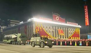 Korea Północna zaprezentowała nowy pocisk balistyczny
