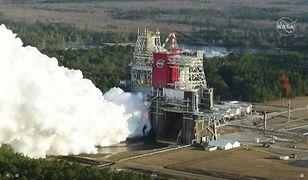 Test najpotężniejszej rakiety NASA