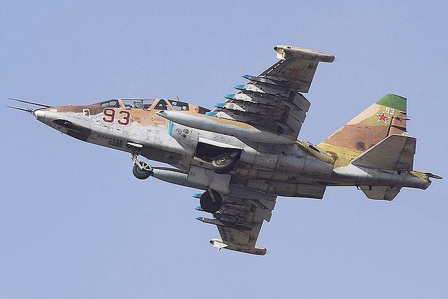 Katastrofa samolotu SU-25 na Kaukazie