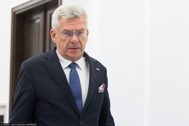 Stanisław Karczewski zarzuca Donaldowi Tuskowi kłamstwo