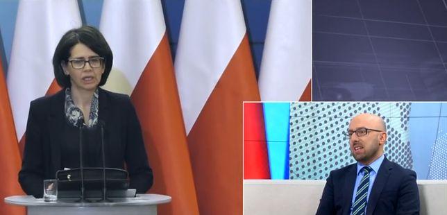 Krzysztof Łapiński: za mocne czy niepotrzebne były komentarze polityków PiS, nie premier