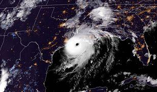 Stany Zjednoczone. Luizjana. Huragan Laura uderzył we wschodnie wybrzeże USA