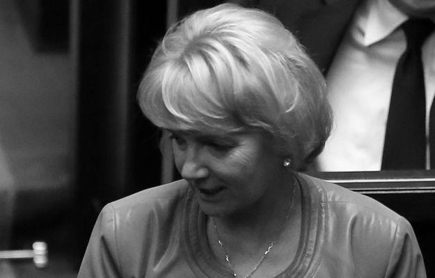 Posłanka Jolanta Szczypińska nie żyje