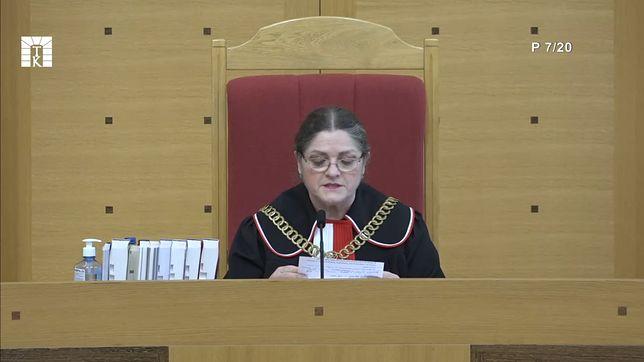 Krystyna Pawłowicz przychylna RPO. Trybunał Konstytucyjny przesuwa rozprawę ws. TSUE