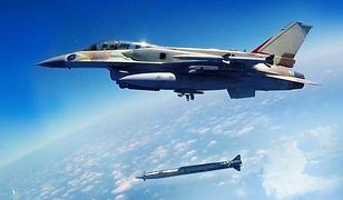 """Nowy naddźwiękowy pocisk Izraela. """"Rampage"""" będą umieszczane na myśliwcach"""
