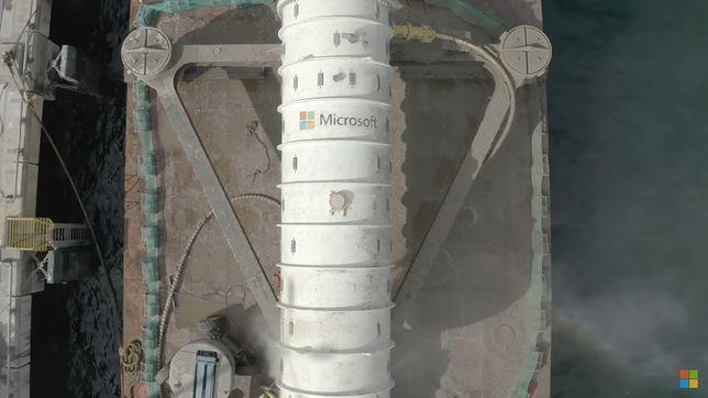 Podwodne centrum bazodanowe od Microsoft