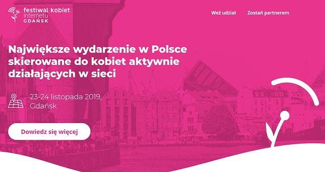 """Festiwal Kobiet Internetu w Gdańsku. Co z mężczyznami? """"Otwarty na wszystkich"""""""