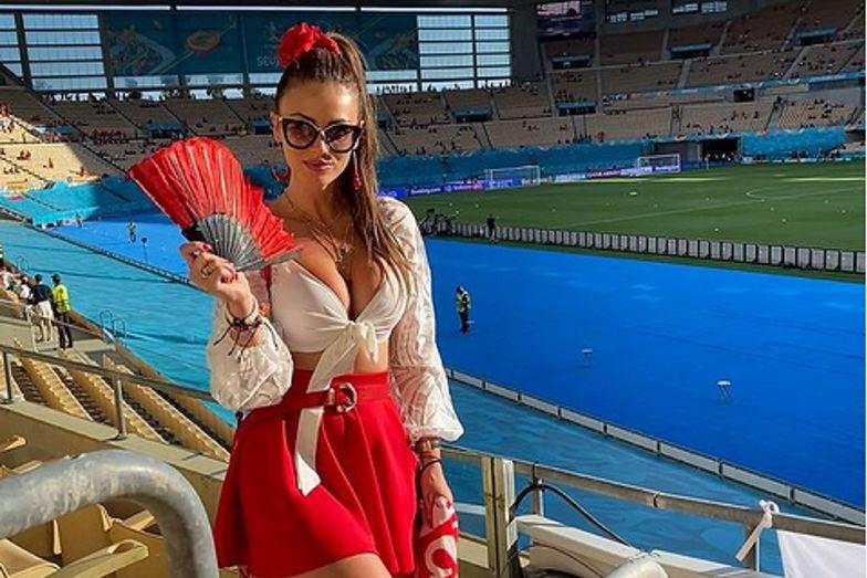 Polska miss Euro zrobiła furorę. Fatalne informacje przed meczem