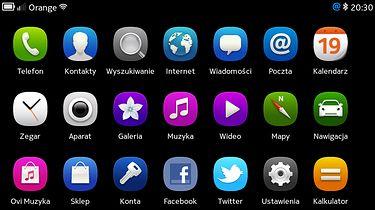 Home Screen Settings — prosty sposób na poziome menu