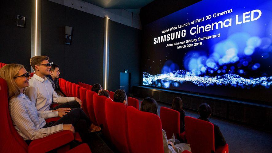 Ruszyło pierwsze na świecie kino z ekranem Samsung Cinema LED 3D