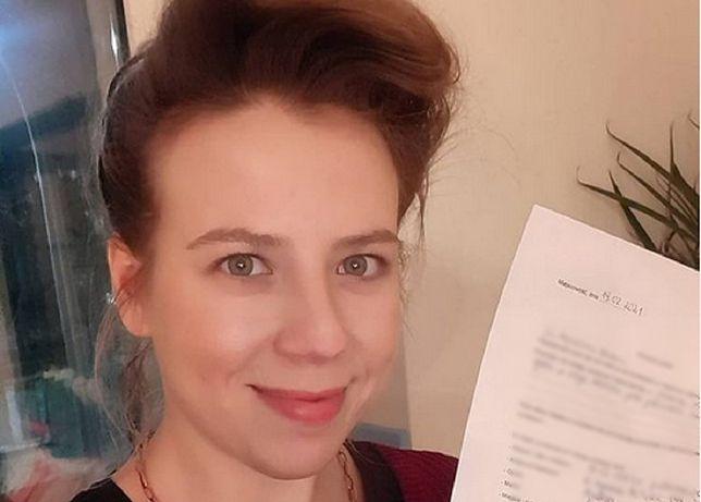 Agnieszka Matan odchodzi z Kościoła. Aktorka złożyła wniosek o apostazję