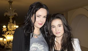 Kasia Kowalska z córką Olą w 2011 r.