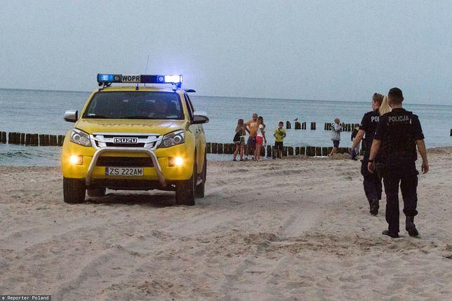 Tragedia w Rozewiu. Ciało dryfowało kilkanaście metrów od brzegu
