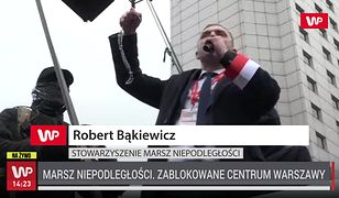 """Mars Niepodległości w Warszawie. Robert Bąkiewicz: """"Musimy pokochać naszych przeciwników"""""""