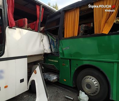 Śląskie. Zderzenie autokarów w Pankach. Kierowca dostanie wyrok w zawieszeniu?