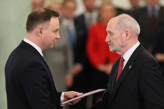 We wtorek Antoni Macierewicz przestał być ministrem obrony narodowej