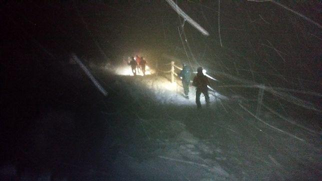 Lekkomyślność turystów w górach. Wyprawa na Śnieżkę mogła skończyć się tragicznie