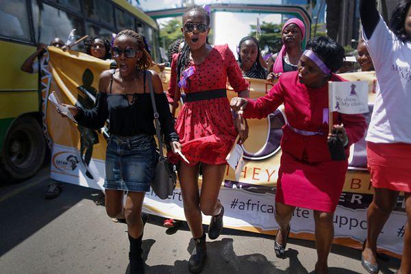 Marsz Kenijek przeciwko przemocy wobec kobiet