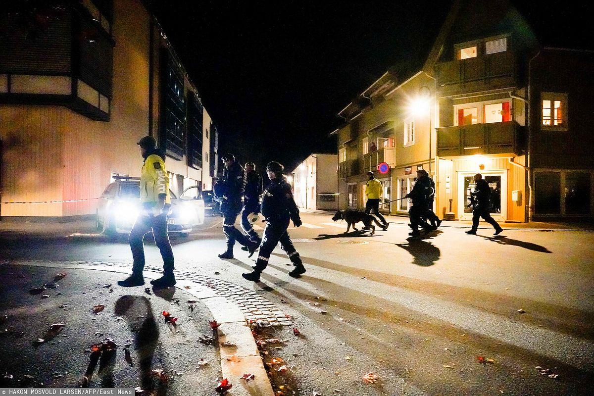 """Atak """"łucznika"""" w Norwegii"""