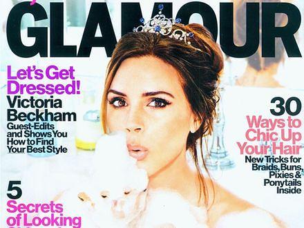 """Victoria Beckham została redaktor naczelną """"Glamour"""""""