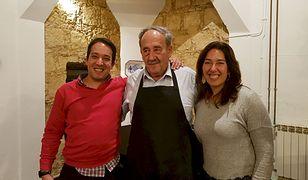 Jose Candido z rodziną