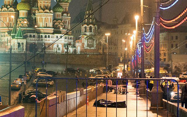 Zabójstwo Niemcowa w centrum Moskwy