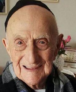 Yisrael Kristal - najstarszy mężczyzna na świecie urodził się w Polsce