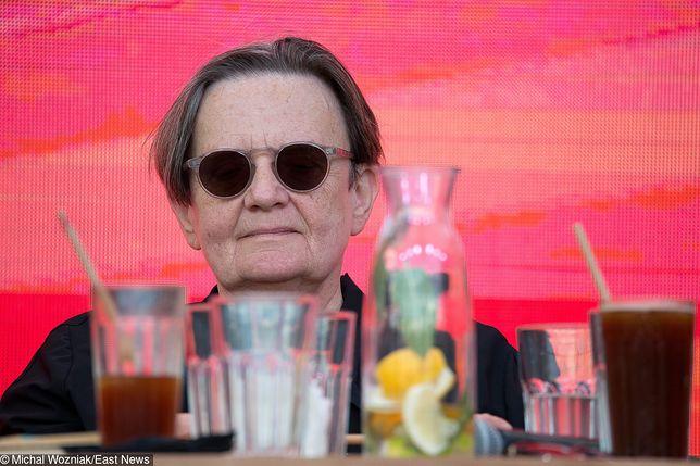 Agnieszka Holland była gościem gdańskich obchodów Święta Wolności i Solidarności.