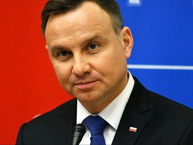 Medale wracają do prezydenta Andrzeja Dudy