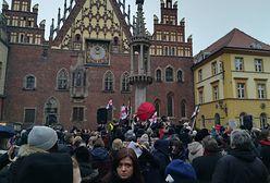 Nie tylko Warszawa. Wrocław też wyszedł na ulice