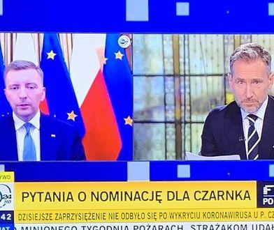 """Piotr Kraśko nie oszczędził w programie """"Fakty po faktach"""" Łukasza Schreibera"""