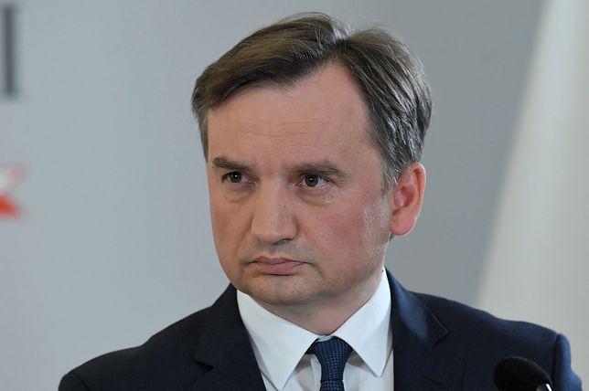 Minister sprawiedliwości Zbigniew Ziobro