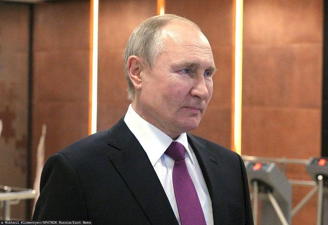 Rosja. Władimir Putin o tym, jak się czuł po szczepieniu