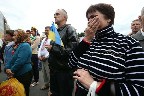 Dzień żałoby narodowej na Ukrainie po śmierci 49 wojskowych