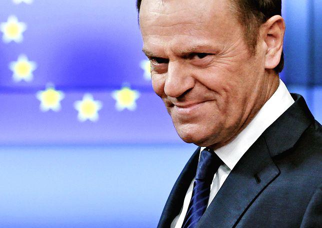 Szef Rady Europejskiej ma powody do zadowolenia