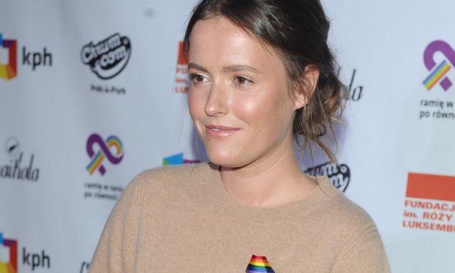 Olga Frycz zmieniła fryzurę