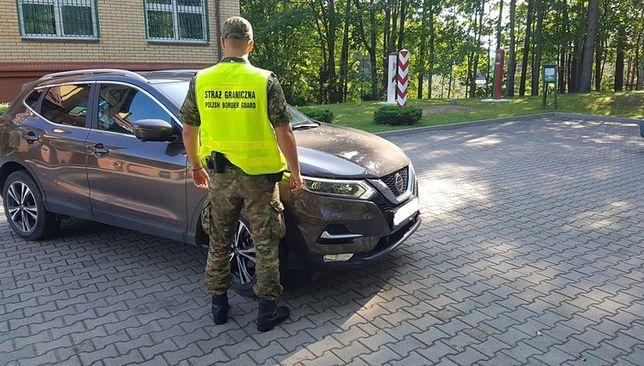 Straż Graniczna zabezpieczyła trzy samochody
